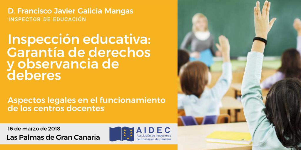 Conferencia 16 de marzo Las Palmas de Gran Canaria
